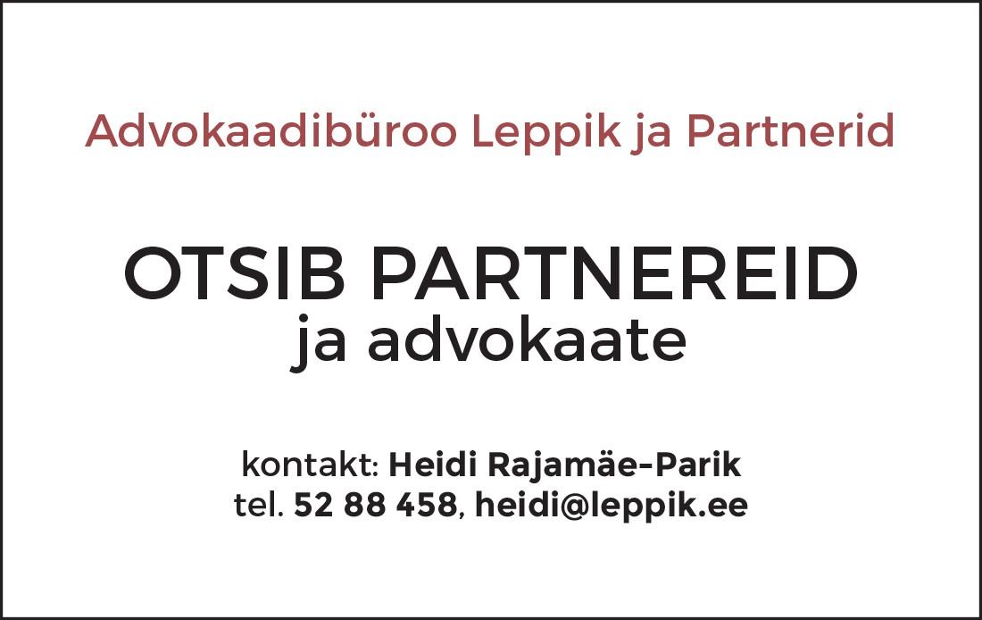 Partnerid ja advokaadid