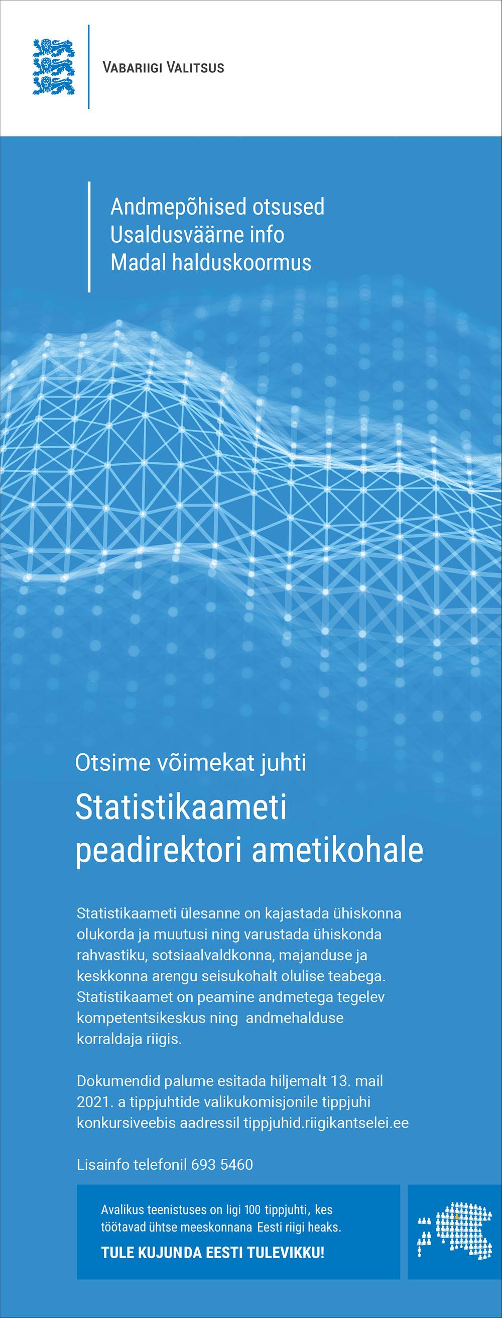 STATISTIKAAMETI PEADIREKTOR