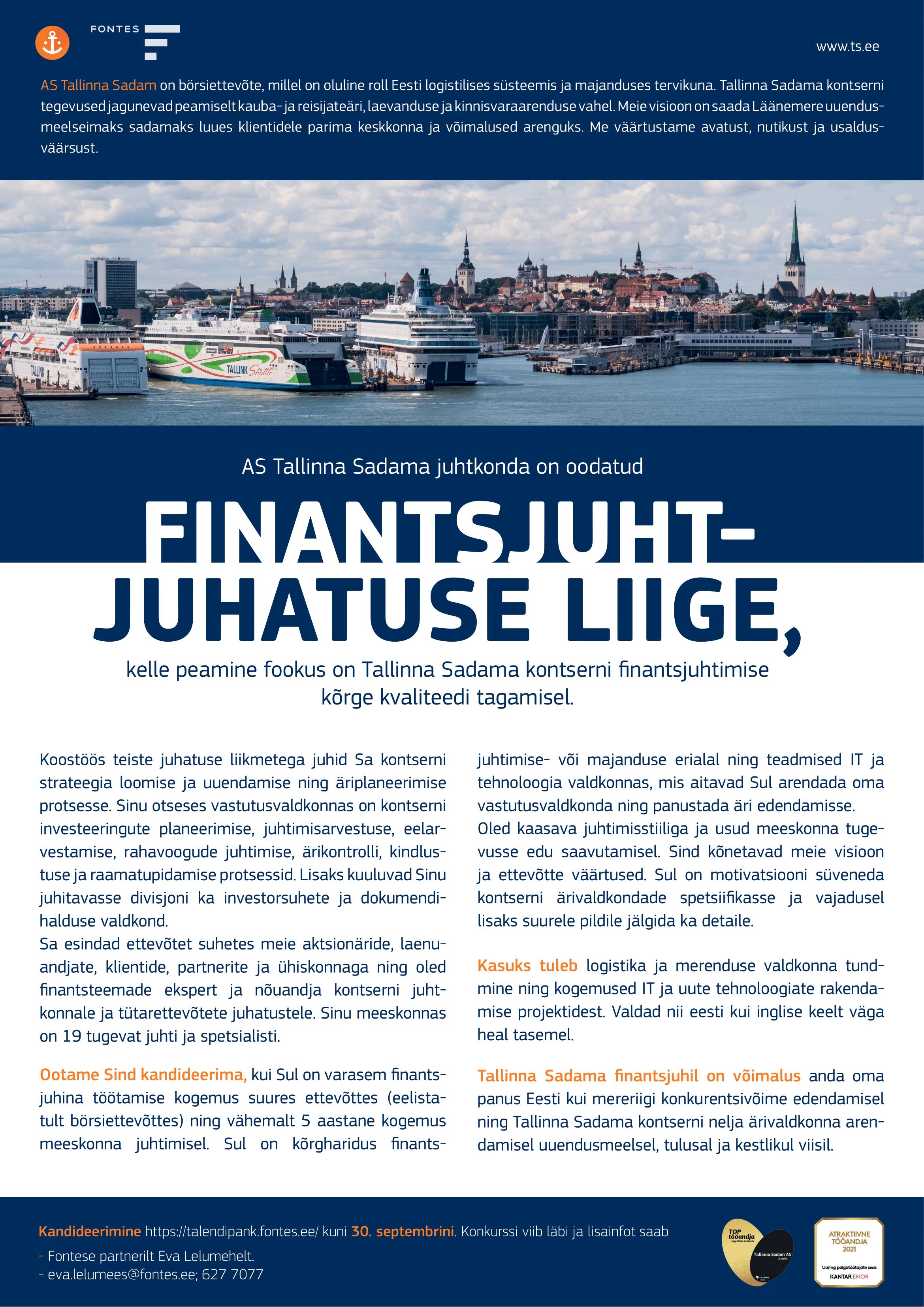 FINANTSJUHT - JUHATUSE LIIGE
