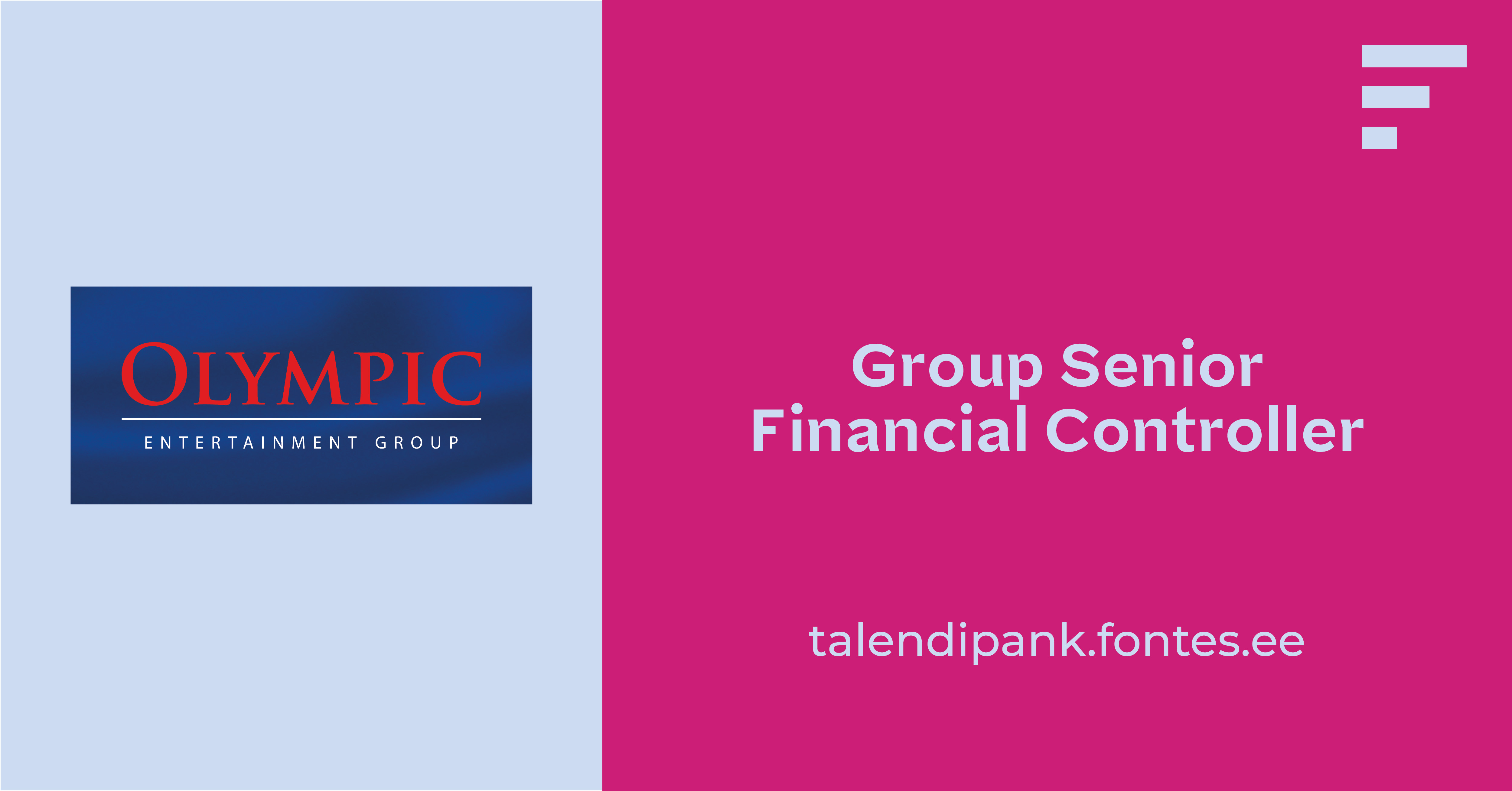 GROUP SENIOR FINANCIAL CONTROLLER