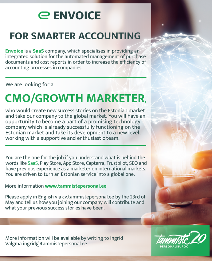 CMO/ GROWTH MARKETER