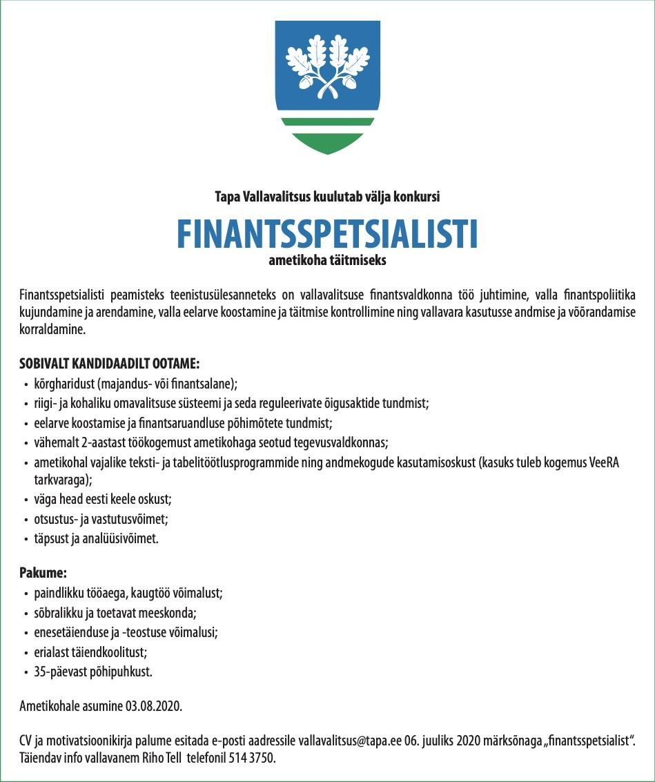 Finantsspetsialist