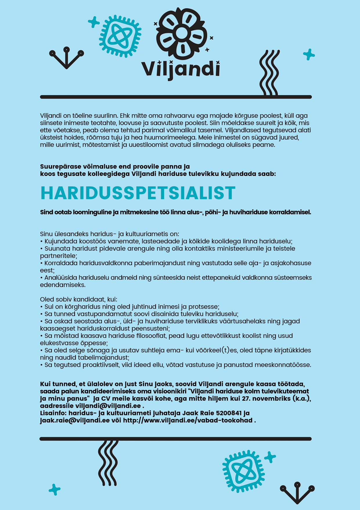 HARIDUSSPETSIALIST