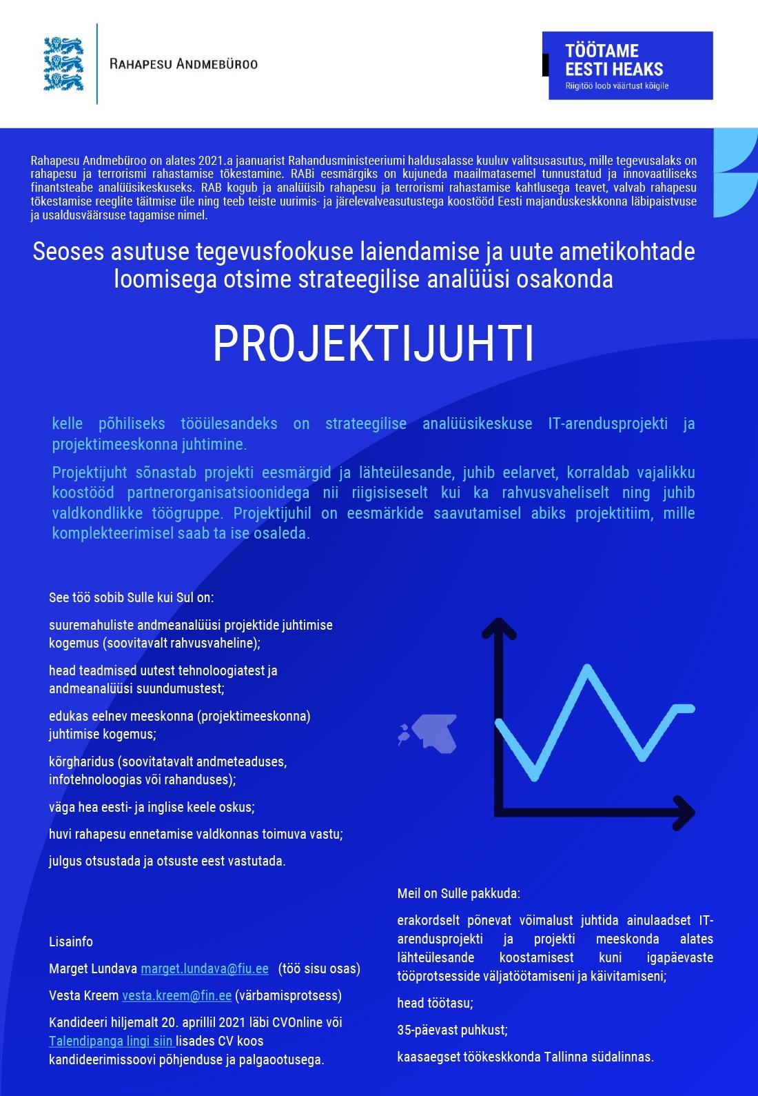 Strateegilise analüüsikeskuse projektijuht