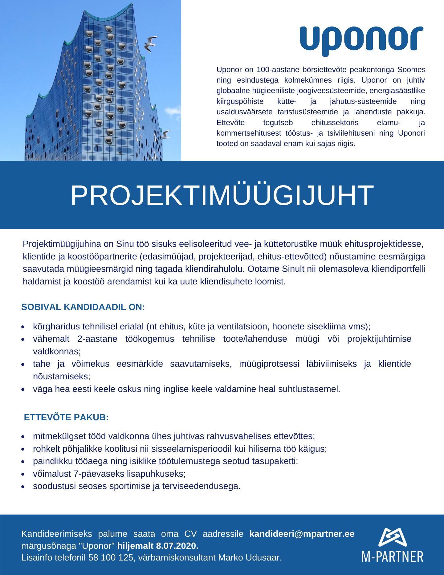 Projektimüügijuht