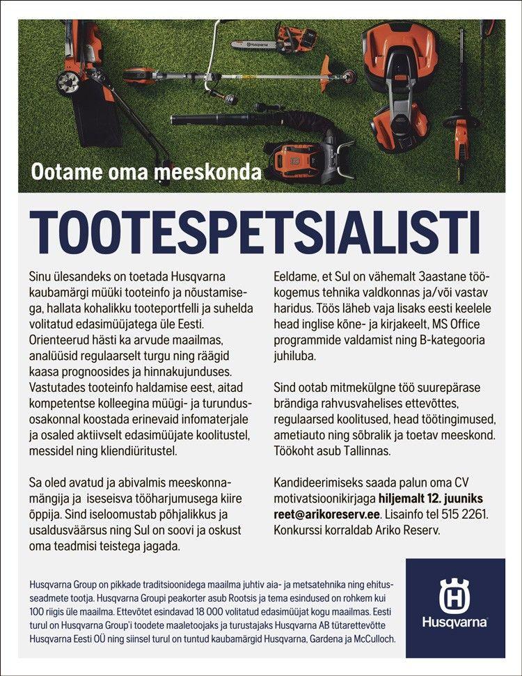 TOOTESPETSIALIST