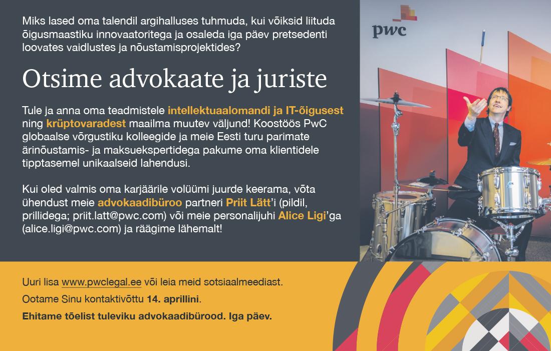 ADVOKAADID / JURISTID