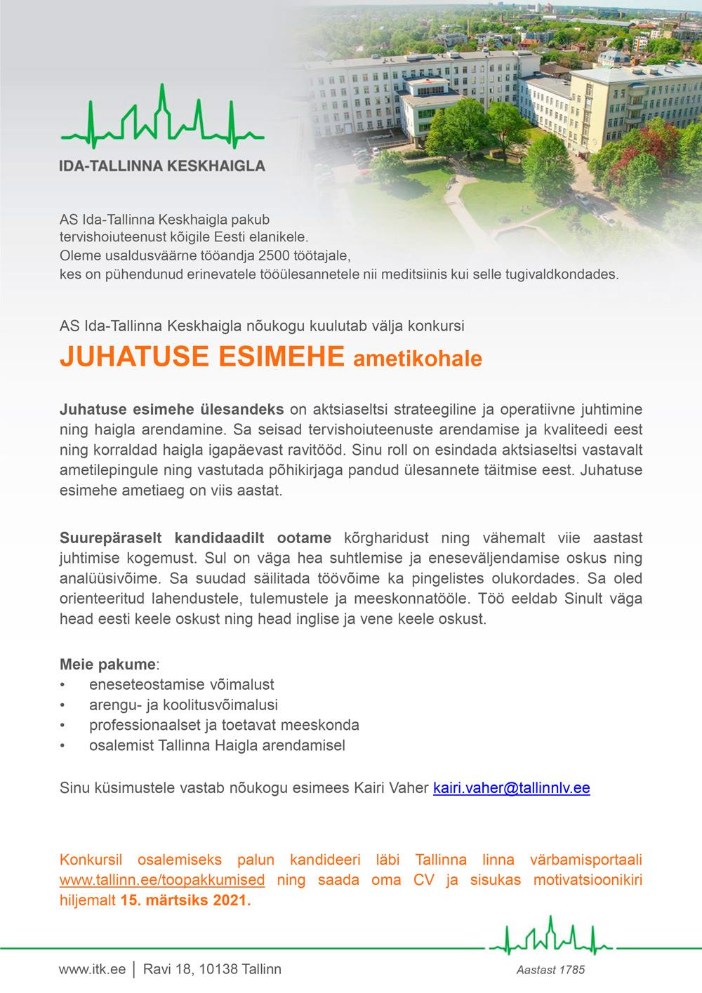 JUHATUSE ESIMEES