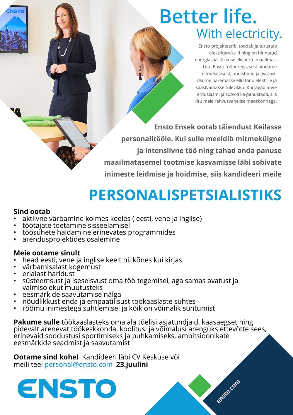 PERSONALISPETSIALIST