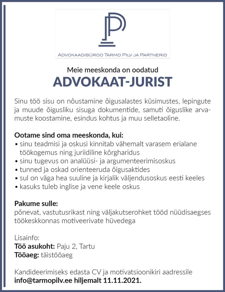 ADVOKAAT-JURIST
