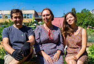 Maria Derlõš, Polina Ljaševa ja Anton Küünal