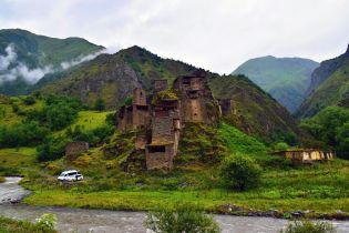 Suur Kaukasuse avastusretk Gruusias. Jalgsimatk üle Kaukasuse aheliku